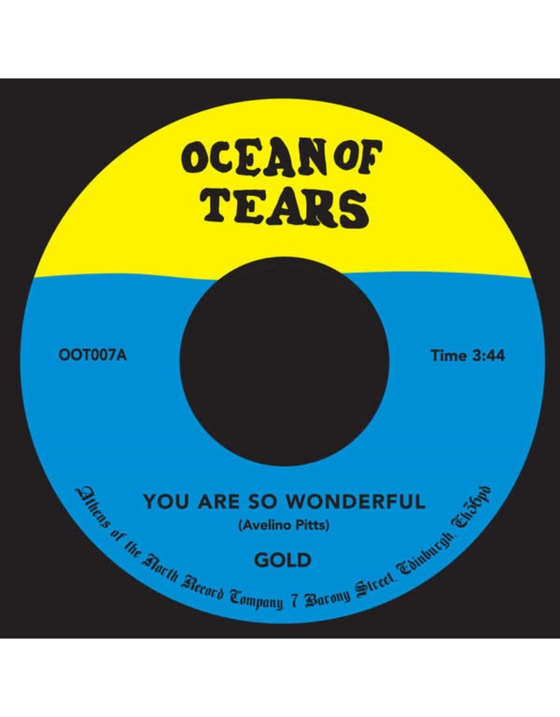 """Gold – You Are So Wonderful 7"""""""