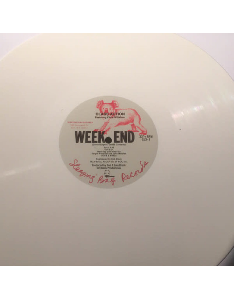 Class Action Featuring Chris Wiltshire ‎– Weekend (White Vinyl) 12""