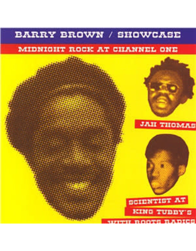 RG Barry Brown ‎– Showcase LP