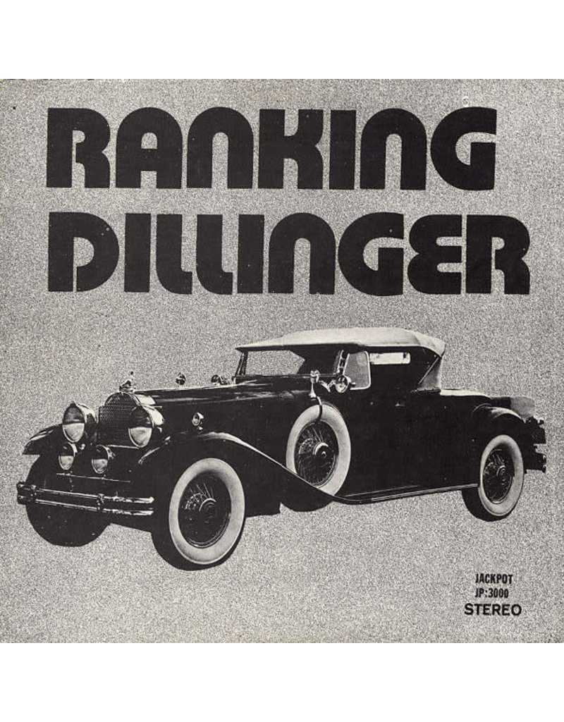 RG Ranking Dillinger - None Stop Disco Style LP
