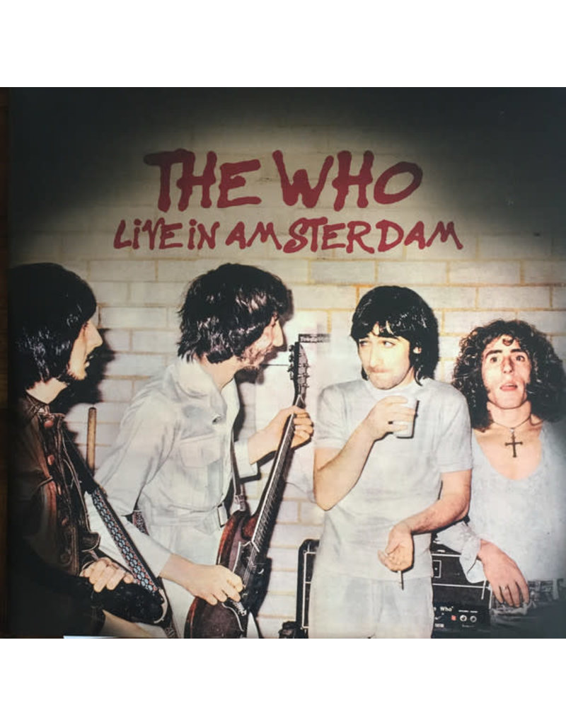 The Who ‎– Live In Amsterdam 2LP
