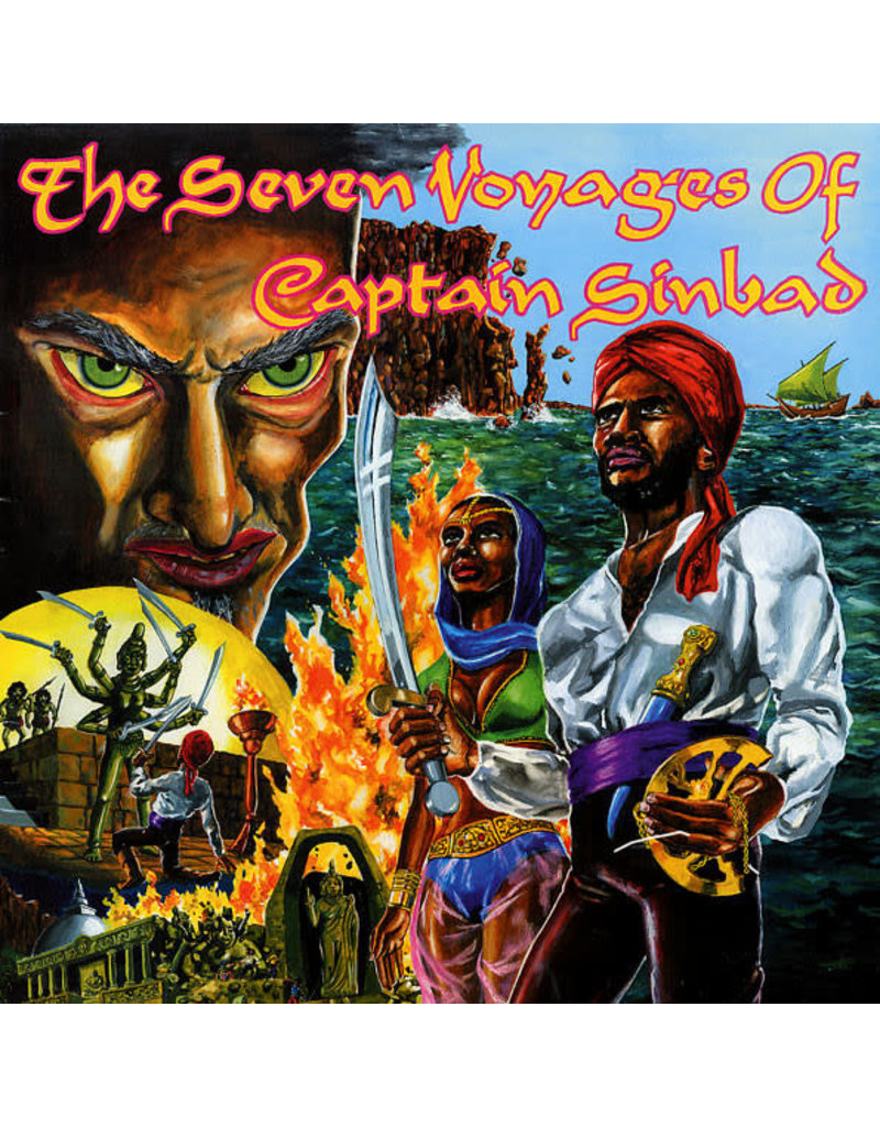 Captain Sinbad ‎– The Seven Voyages Of Captain Sinbad LP