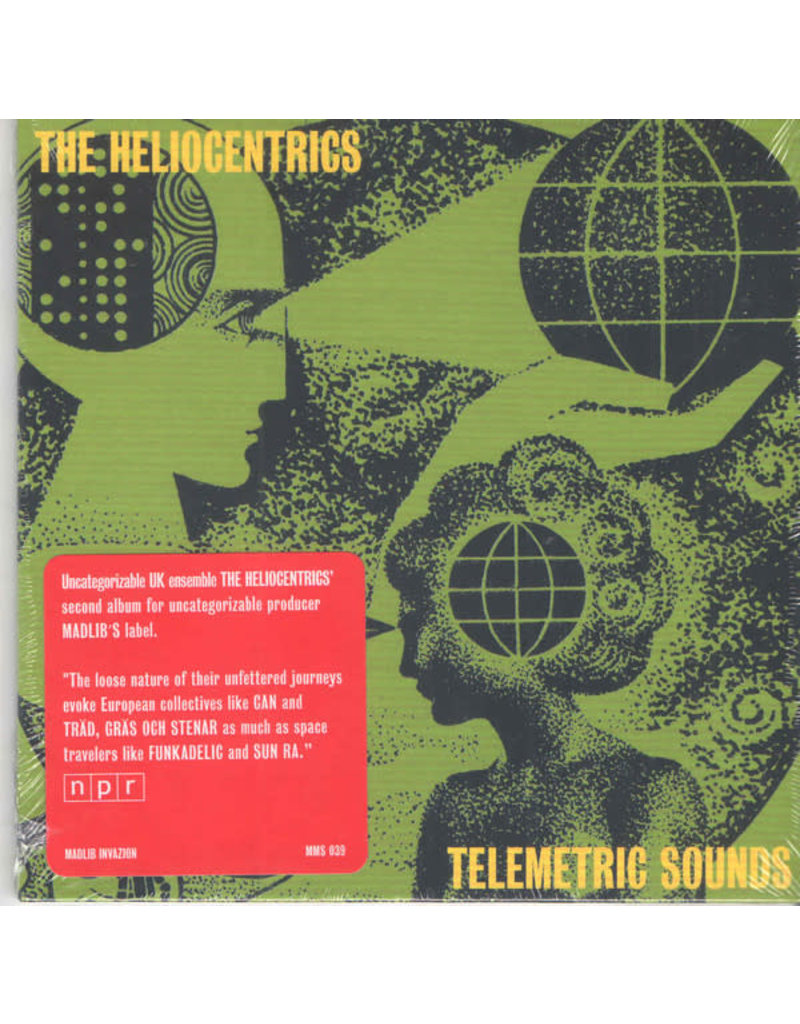 The Heliocentrics ‎– Telemetric Sounds CD