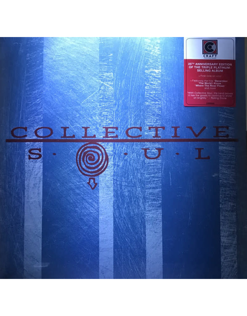 Collective Soul ‎– Collective Sou (25th Anniversary Edition) LP, 2020 Reissue