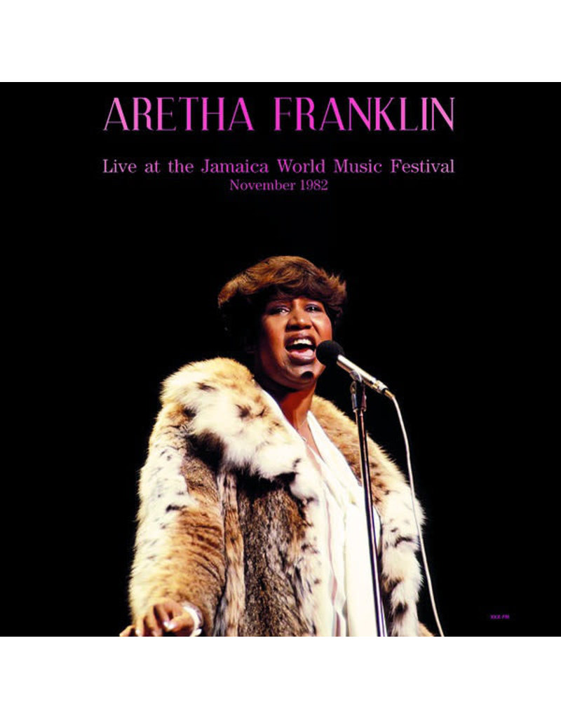Aretha Franklin – Live At The Jamaica World Music Festival November 1982 LP