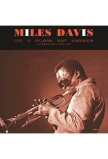 Miles Davis – Live At Fillmore West Auditorium San Fransisco, 9 April 1970 2LP