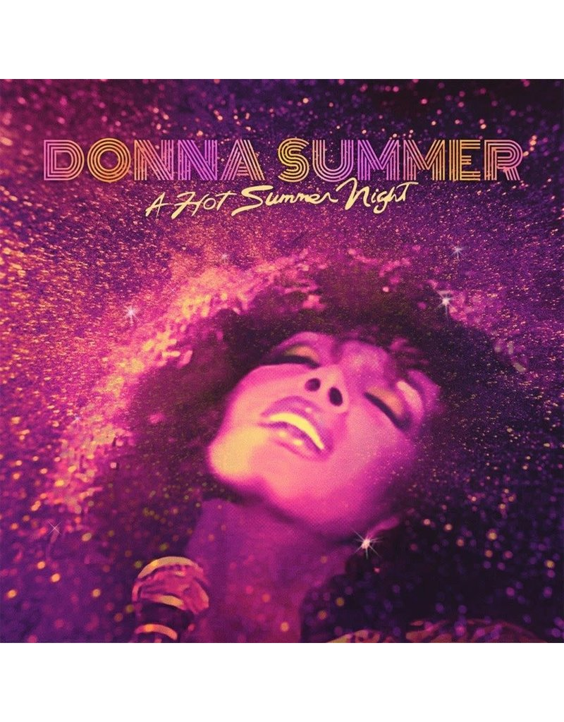 Donna Summer ‎– A Hot Summer Night (Purple Vinyl) 2LP