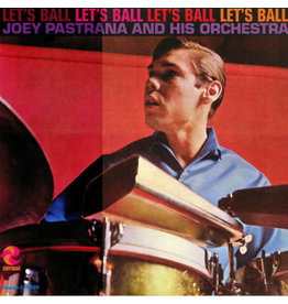 LA Joey Pastrano And His Orchestra ‎– Let's Ball LP