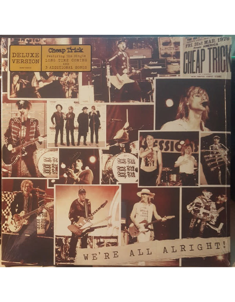 Cheap Trick – We're All Alright! LP