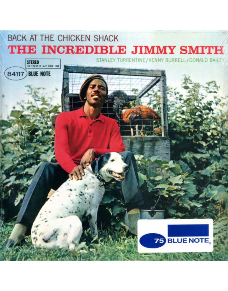 The Incredible Jimmy Smith ‎– Back At The Chicken Shack LP