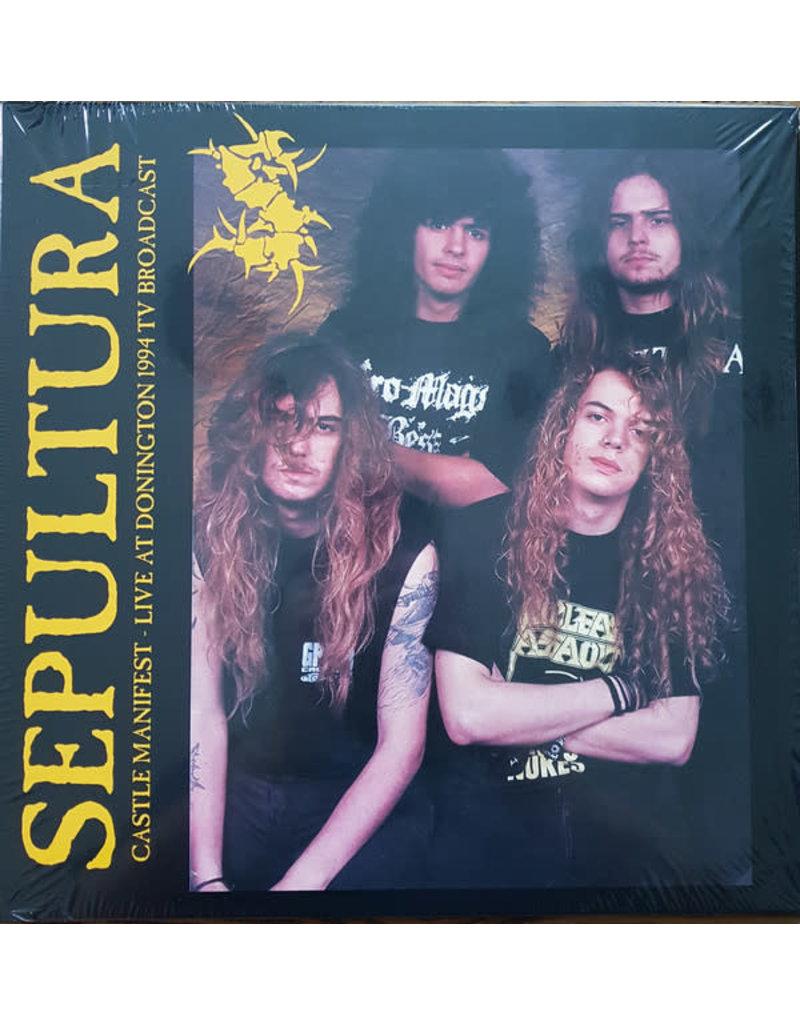 Sepultura – Castle Manifest - Live At Donington 1994 TV Broadcast LP