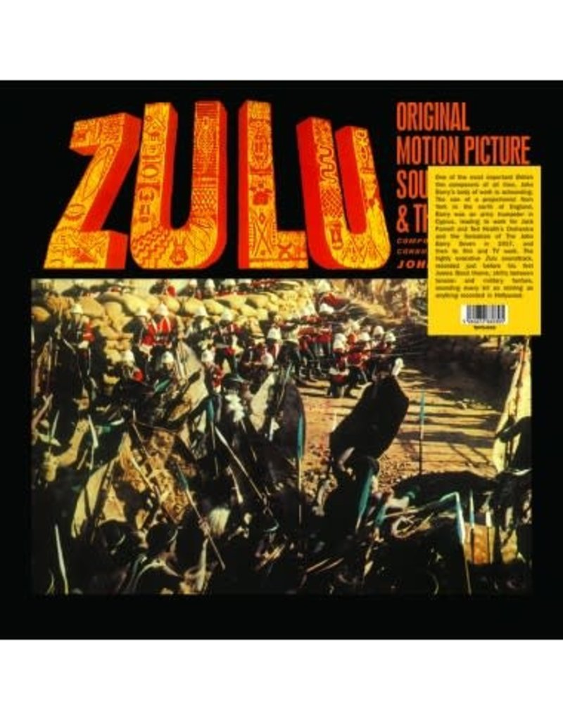 John Barry ‎– Zulu (Original Motion Picture Sound Track & Themes) LP