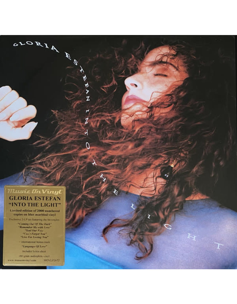 Gloria Estefan – Into The Light 2LP (Music On Vinyl), Blue Marbled Colored, Numbered, Limited 2000