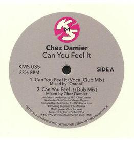 "Chez Damier – Can You Feel It (White Vinyl) 12"""