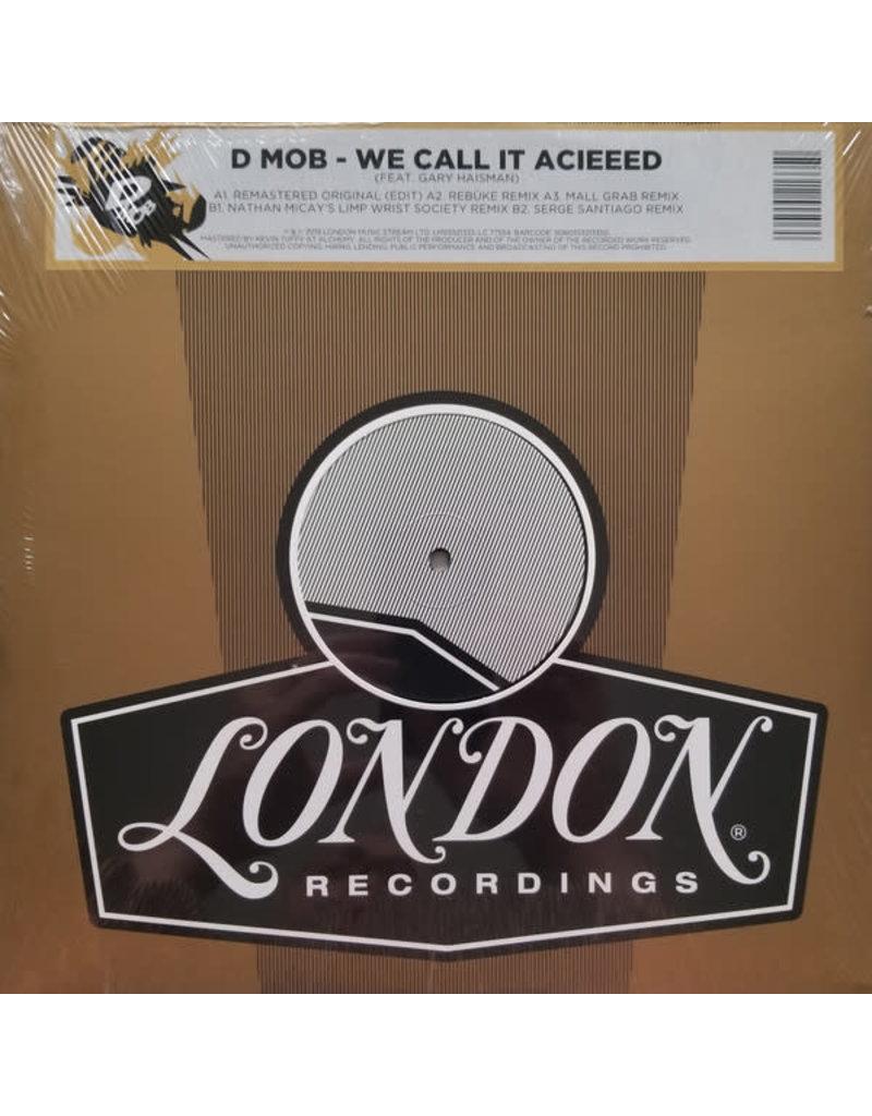 "D Mob Feat. Gary Haisman – We Call It Acieeed 12"" [RSD2020]"