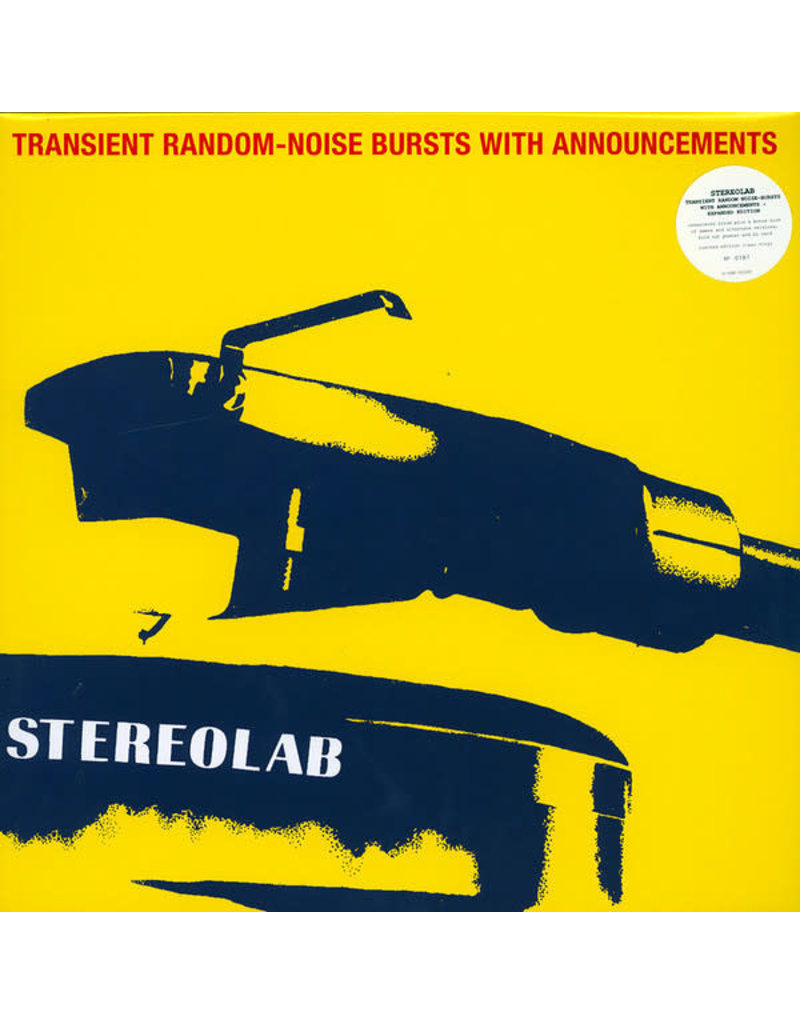 Stereolab ‎– Transient Random-Noise Bursts With Announcements 3LP