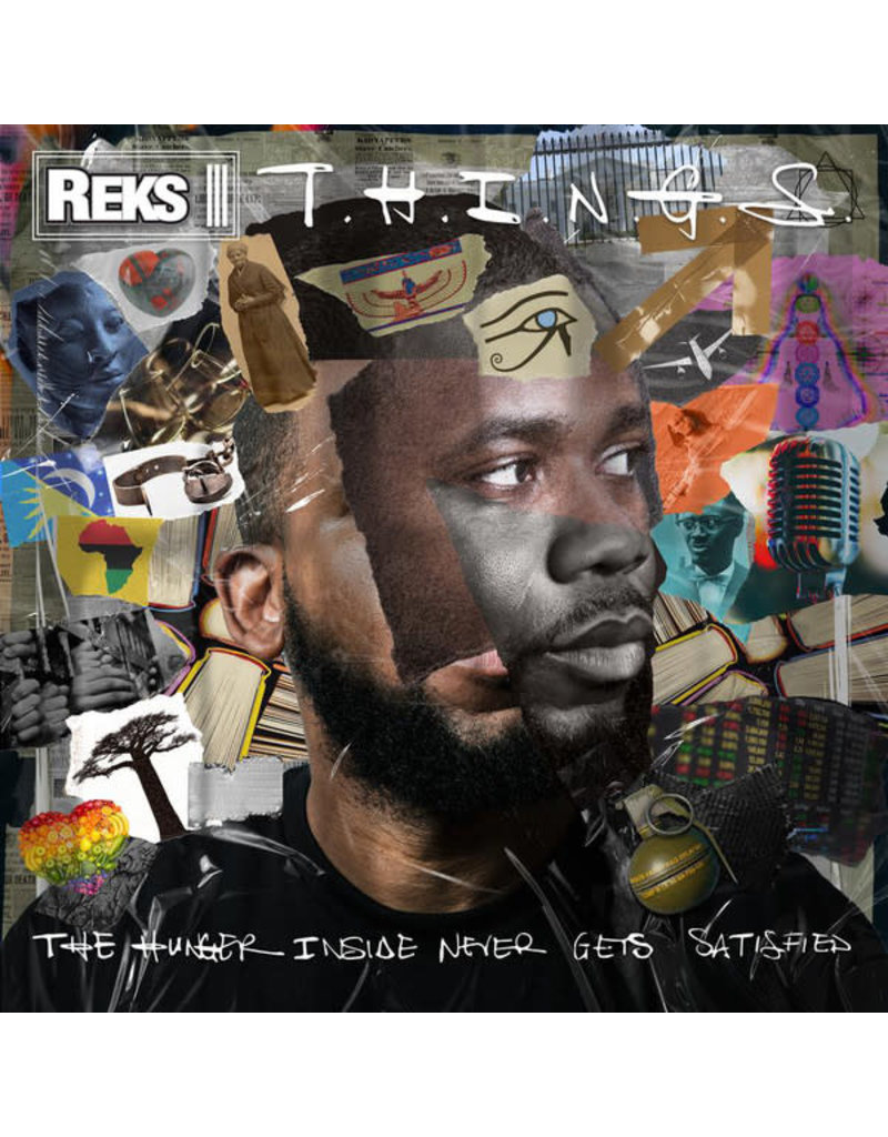 HH Reks ‎– T.H.I.N.G.S. (The Hunger Inside Never Gets Satisfied) CD
