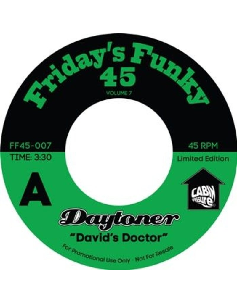 "Daytoner – David's Doctor / Ooh Lalo 7"""