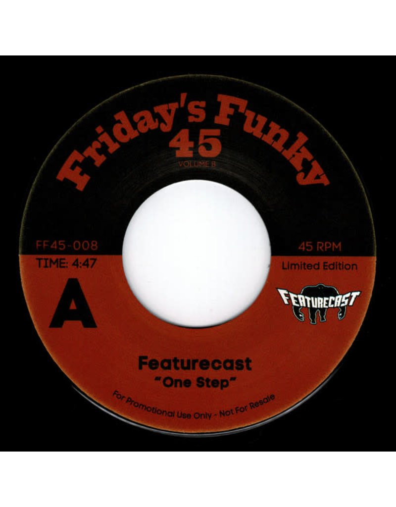 """Featurecast / The Gaff – One Step / Ain't Got Time 7"""""""