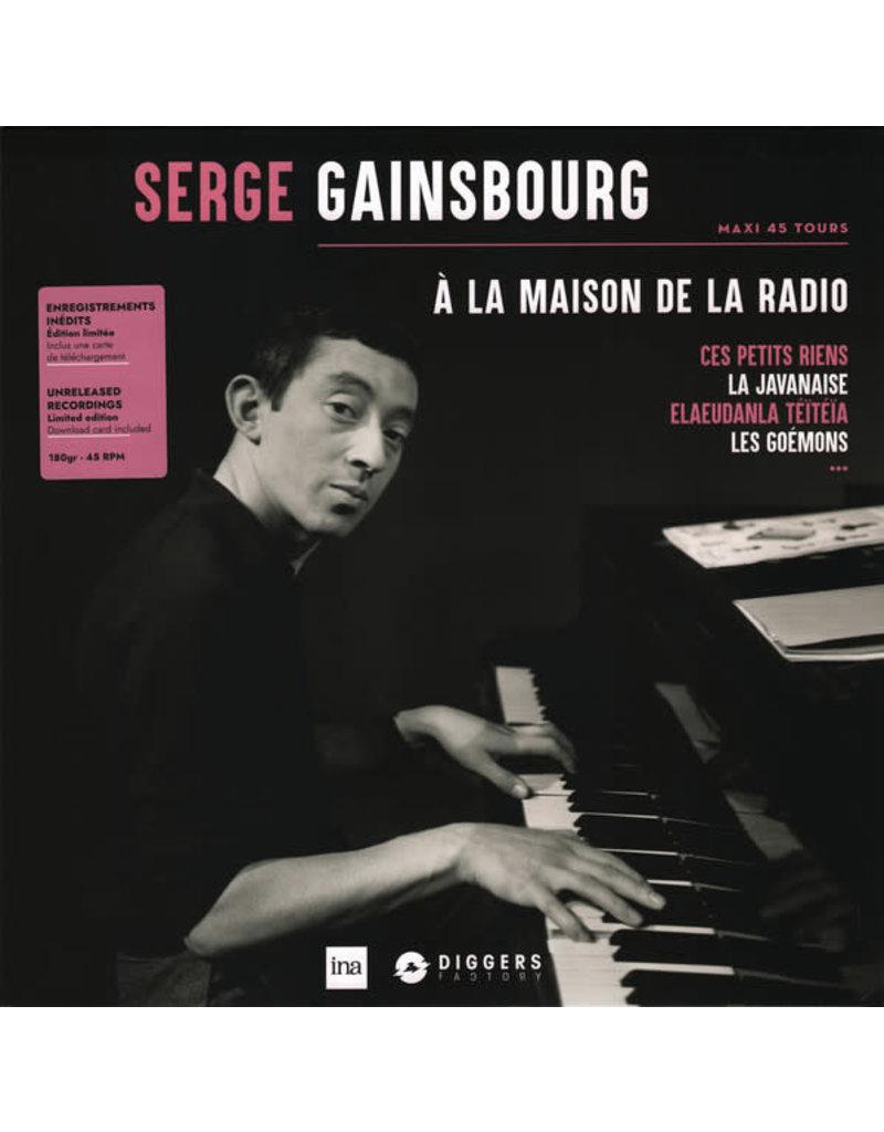 Serge Gainsbourg - A La Maison De La Radio LP (2020), Limited Edition, Numbered