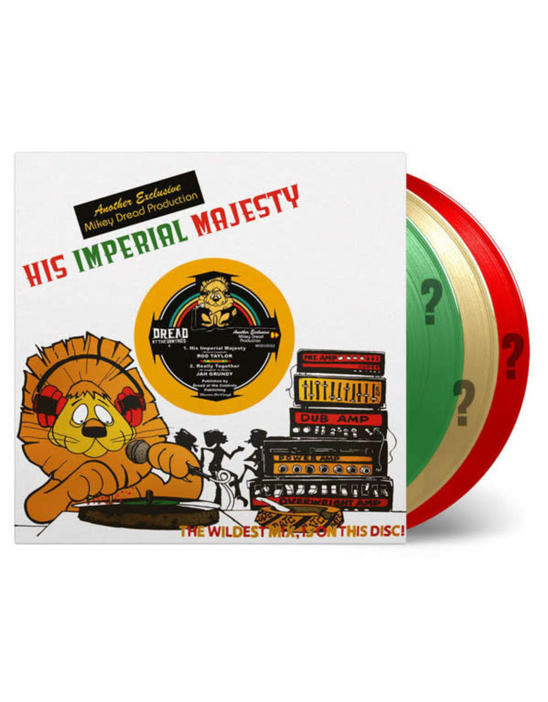 "Rod Taylor / Jah Grundy / Mikey Dread / King Tubby ‎– His Imperial Majesty 10"" [RSD2020]"