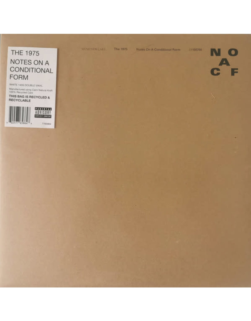 The 1975 ‎– Notes On A Conditional Form (White Vinyl) 2LP