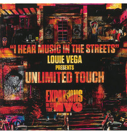 Louie Vega Presents Unlimited Touch ‎– I Hear Music In The Streets (Expansions In The NYC Preview 3) 12""