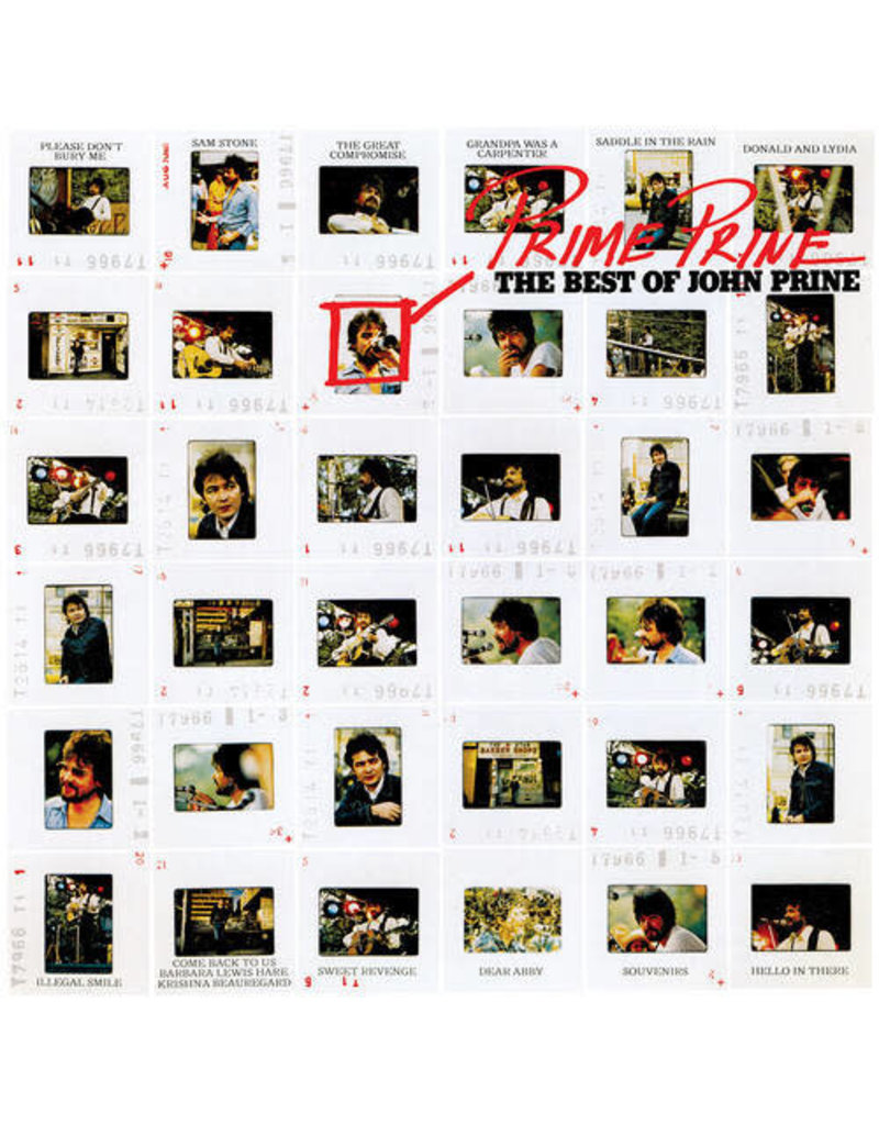 John Prine ‎– Prime Prine: The Best Of John Prine LP