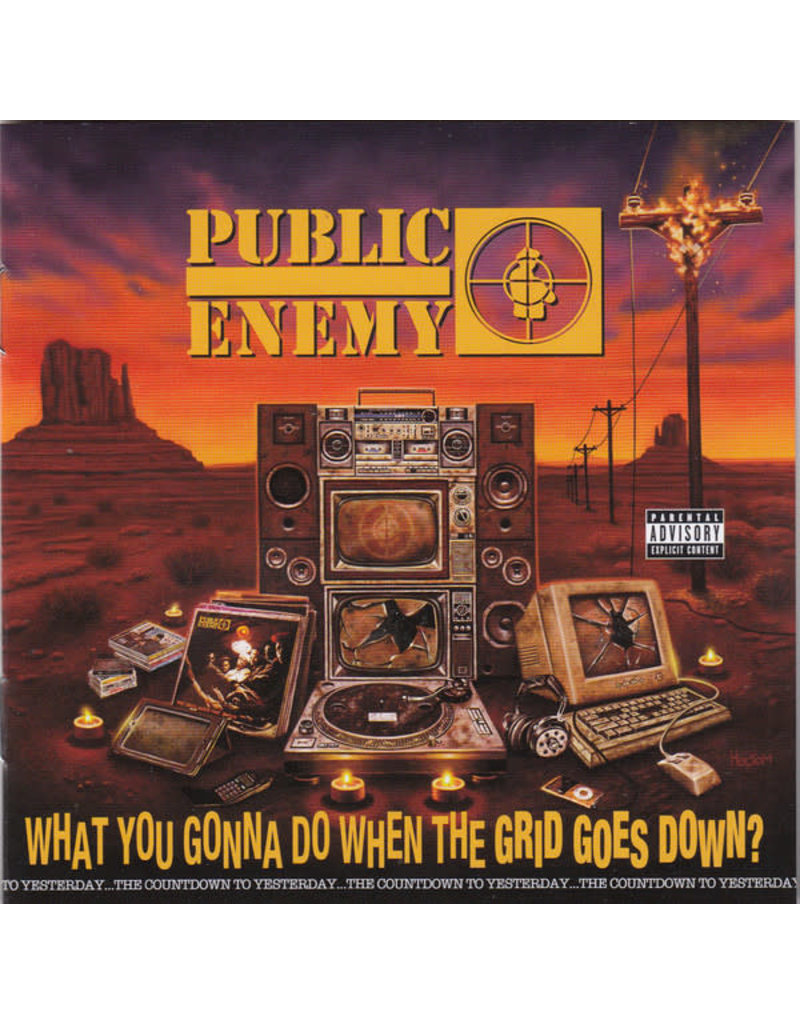 Public Enemy ‎– What You Gonna Do When The Grid Goes Down? CD