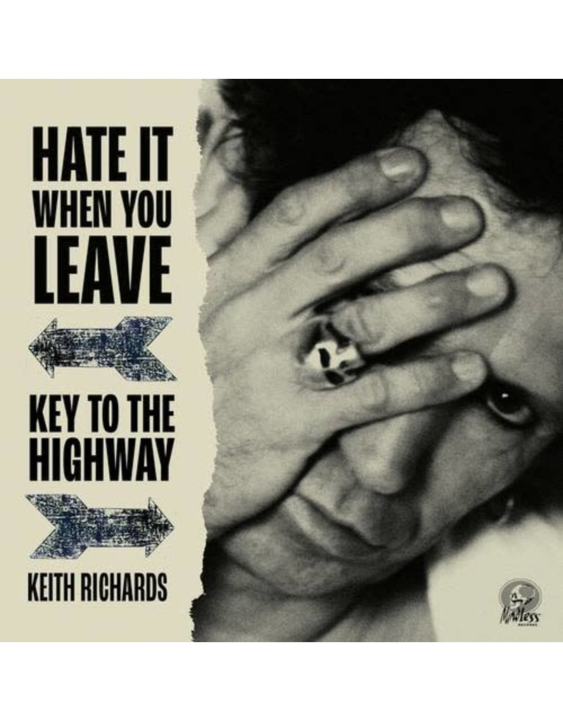 """Keith Richards - Hate It When You Leave / Key To The Highway 7"""" [RSD2020]"""