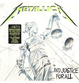 RK Metallica ‎– ...And Justice For All 2LP