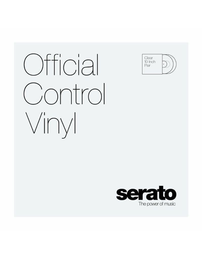"Serato Control Vinyl 10"" (Pair) - Clear"