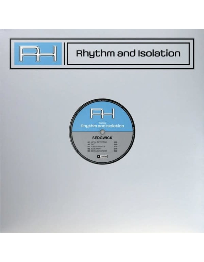 Sedgwick ‎– Rhythm And Isolation 12""