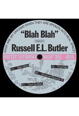 """Russell E.L. Butler – Blah Blah 12"""""""