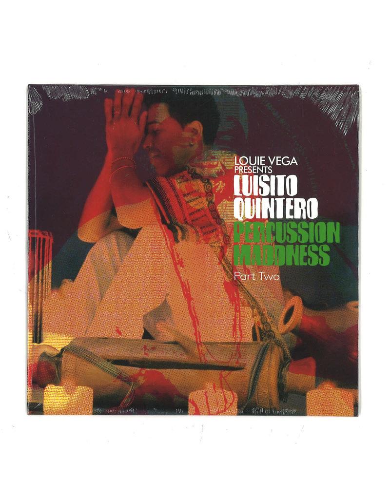 """Louie Vega Presents Luisito Quintero – Percussion Maddness Part Two 2x7"""""""