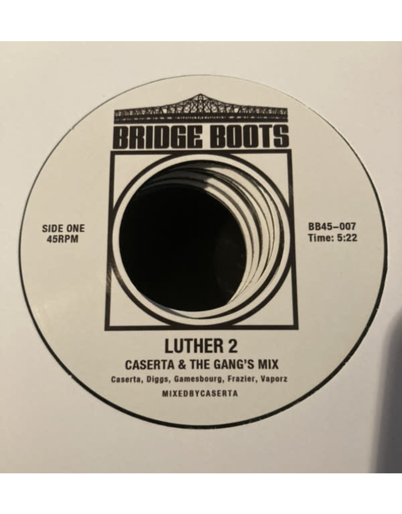 Caserta ‎– Luther 2 7""