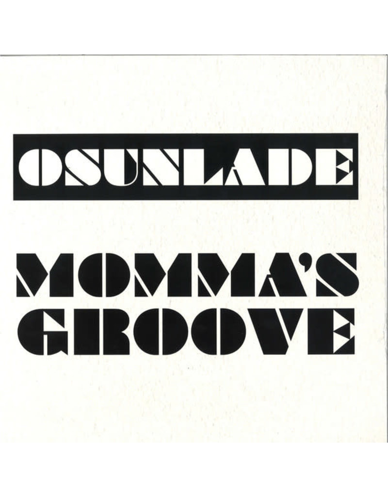 """Osunlade – Momma's Groove 12"""""""