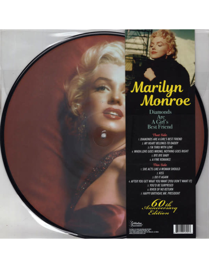 Marilyn Monroe ‎– Diamonds Are A Girl's Best Friend (Picture Disc) LP