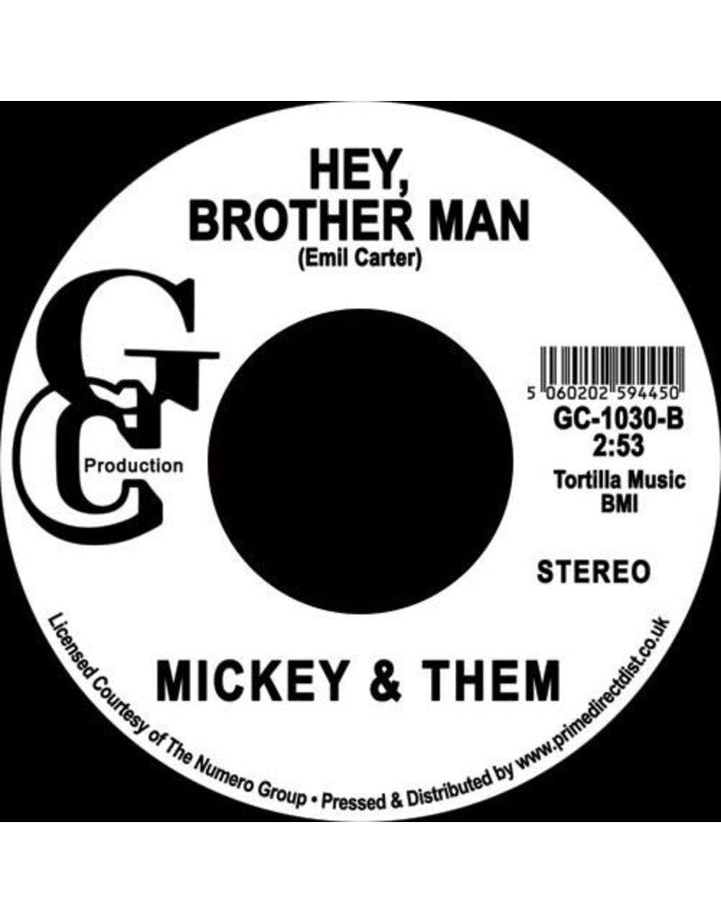 "Mickey & Them – U.F.O. / Hey, Brother Man  7"" [RSD2020]"