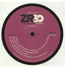 Various ‎– 30 Years Of Z Records EP 4 12""