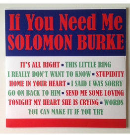 Solomon Burke ‎– If You Need Me LP