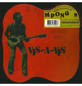 K. Frimpong Backed By Vis-A-Vis ‎– K Frimpong Backed By Vis​-​A​-​Vis LP