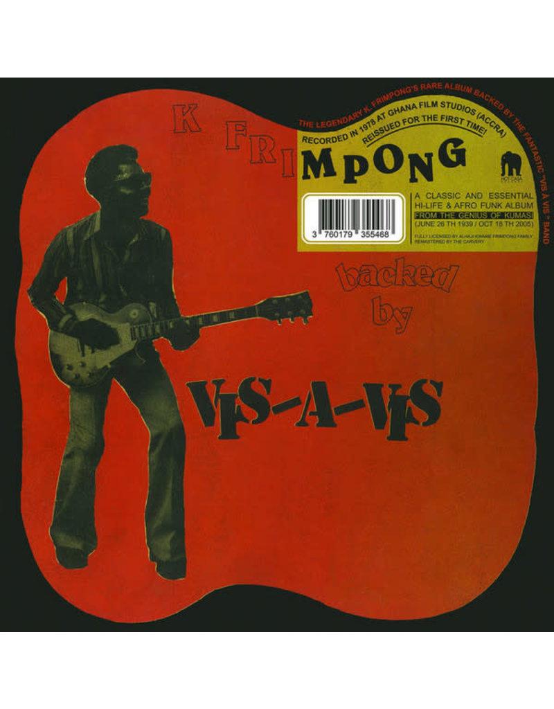 K. Frimpong Backed By Vis-A-Vis – K Frimpong Backed By Vis-A-Vis LP