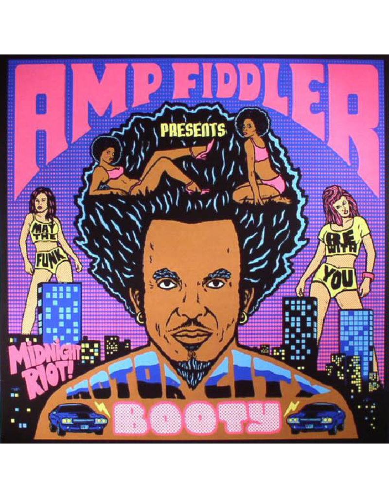 HS AMP FIDDLER - MOTOR CITY BOOTY 2LP