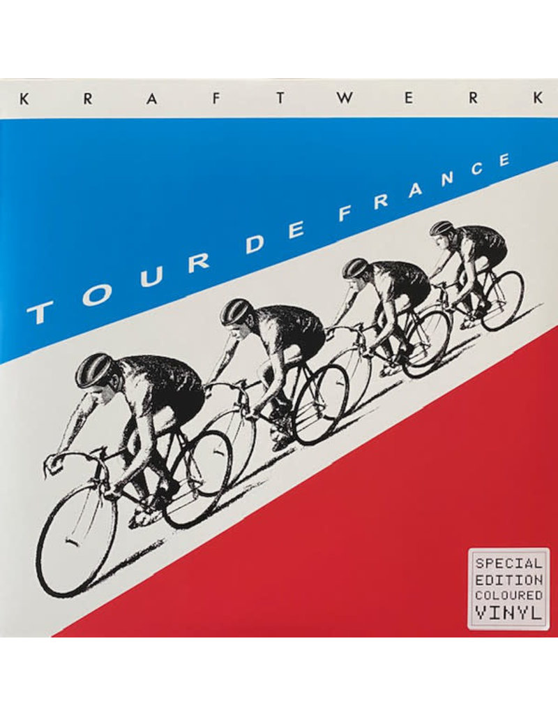 Kraftwerk ‎– Tour De France (Red/Blue Vinyl) 2LP