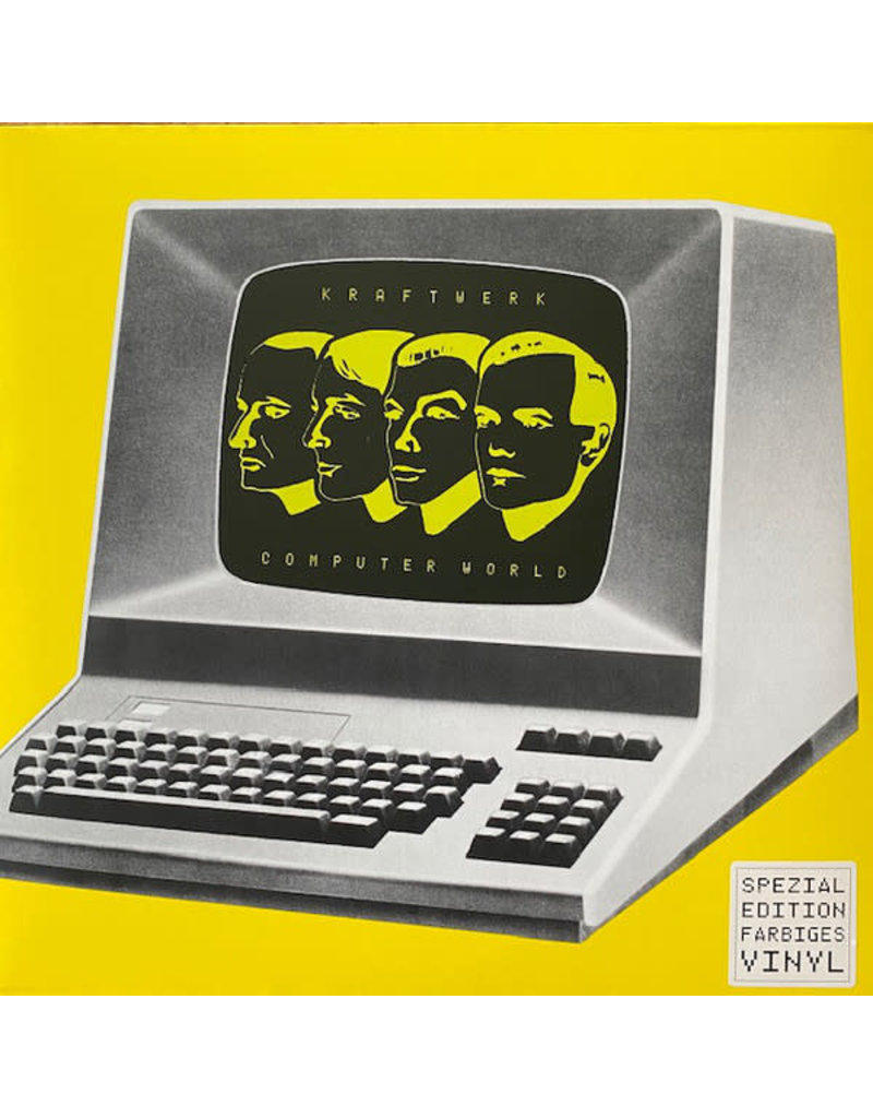 Kraftwerk – Computer World (Yellow Vinyl) LP