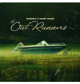 Curren$y  (Currency)& Harry Fraud – The OutRunners CD