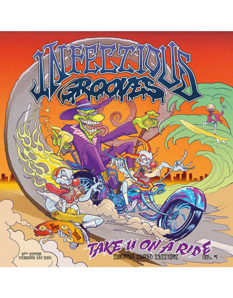 """Infectious Grooves – Take U On A Ride - Summer Shred Sessions, Vol. #1 12"""" [RSD2020]"""