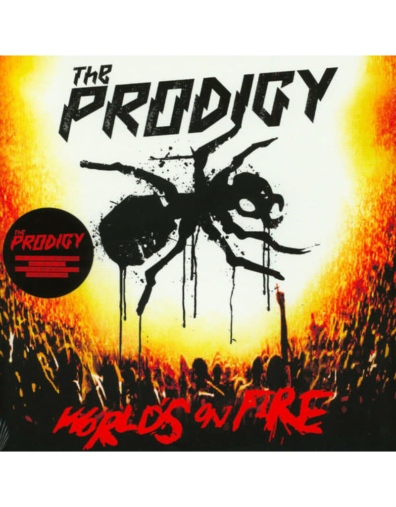 The Prodigy – Live - World's On Fire 2LP