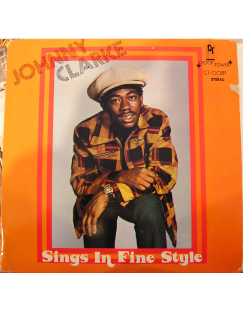 Johnny Clarke ‎– Sings In Fine Style LP